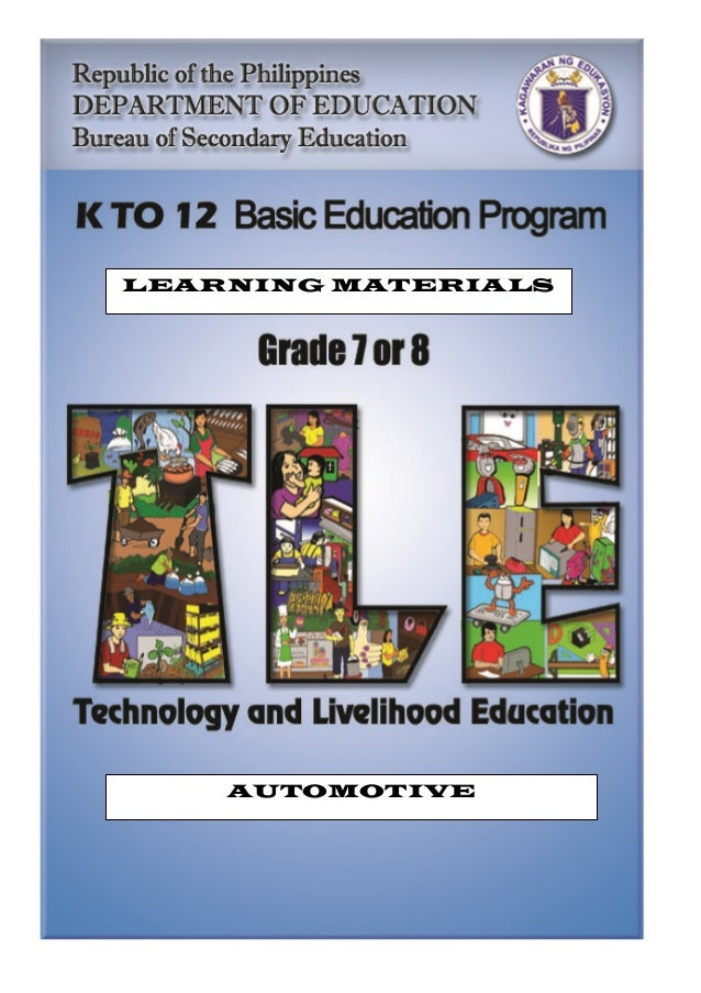 LEARNING MATERIALS AUTOMOTIVE