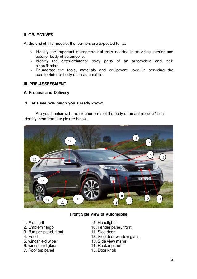 AUTOMOTIVE LEARNING MODULE K-12 2ND EDIT