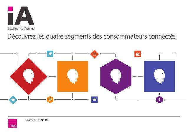 Intelligence Applied Découvrez les quatre segments des consommateurs connectés Share this