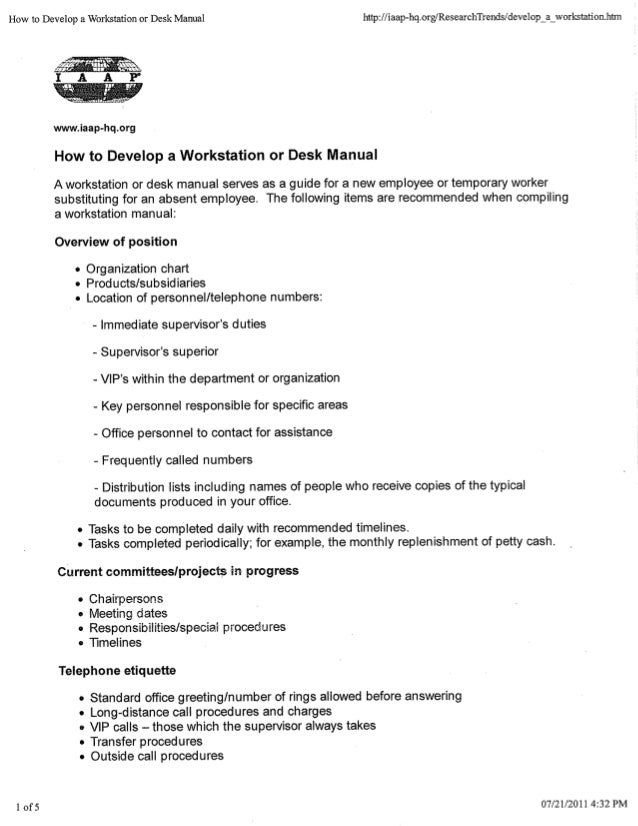 Help Desk Policy And Procedure Manual Manual Guide