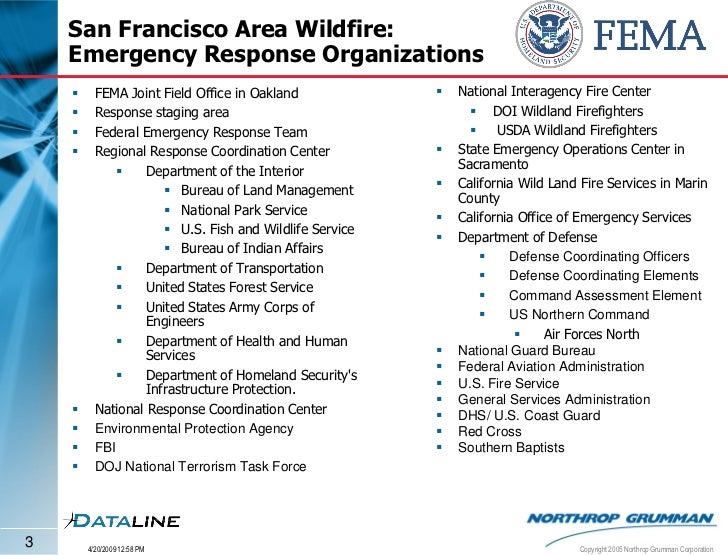 Iaas demonstration san francisco wildfire - United states department of the interior bureau of indian affairs ...