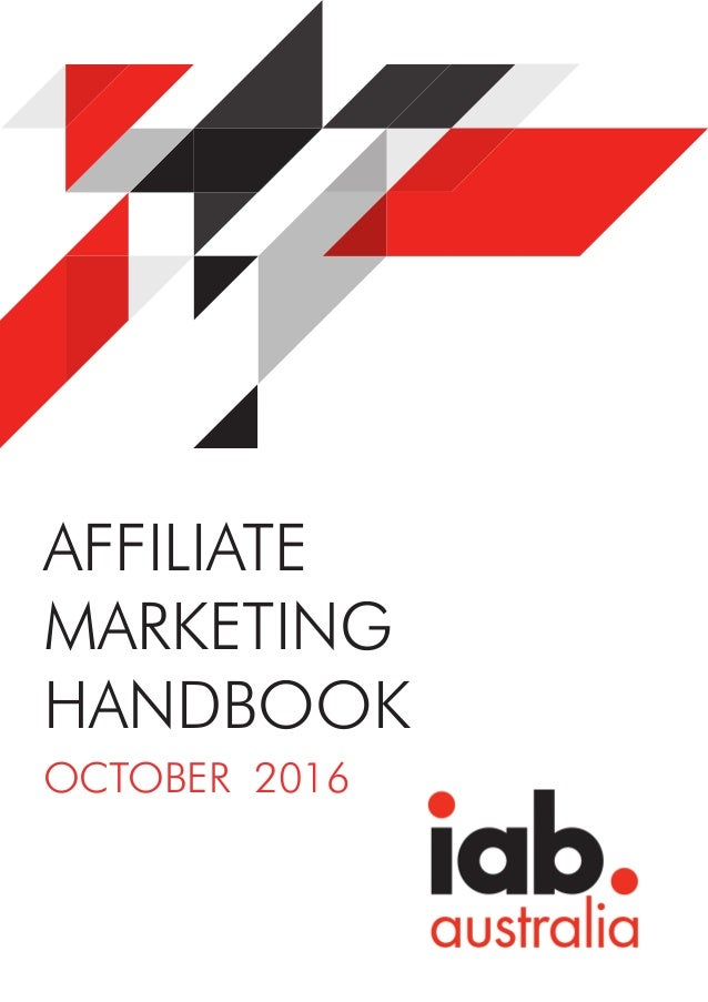 AFFILIATE MARKETING HANDBOOK OCTOBER 2016