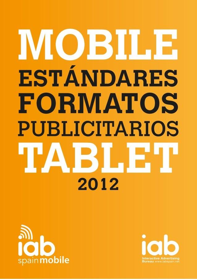 Guía de Formatos publicitarios para smartphones y tablets