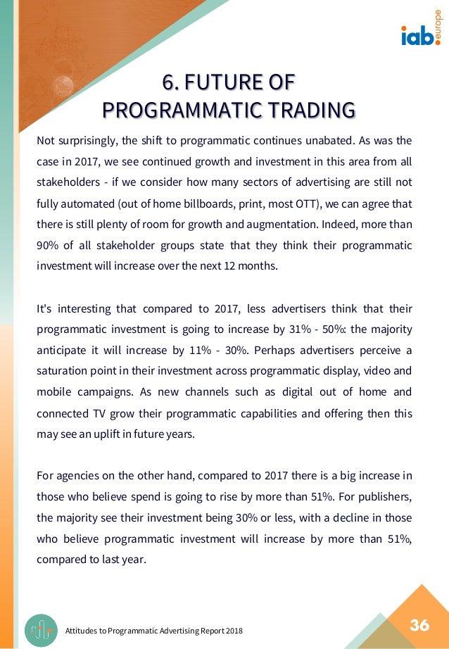 IAB Europe Report: Attitudes to Programmatic Advertising 2017