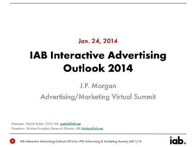 IAB empowers the media and marketing industries to thrive in the digital economy.