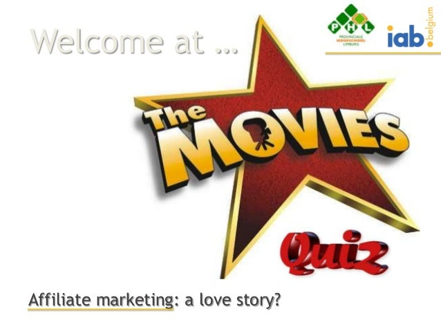 Welcome at …Affiliate marketing: a love story?