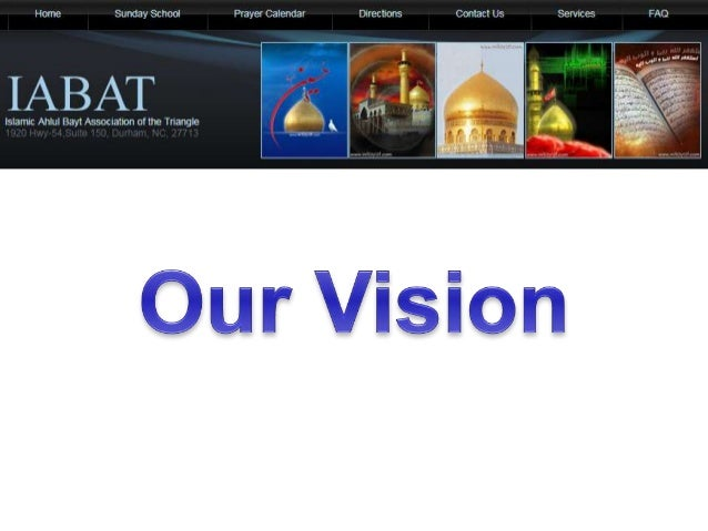 Our vision… A center for IABAT community