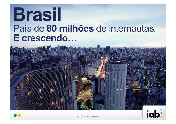 Brasil Conectado – Hábitos de Consumo de MídiaObjetivos   Buscar compreender a audiência online no Brasil, seu   envolvime...