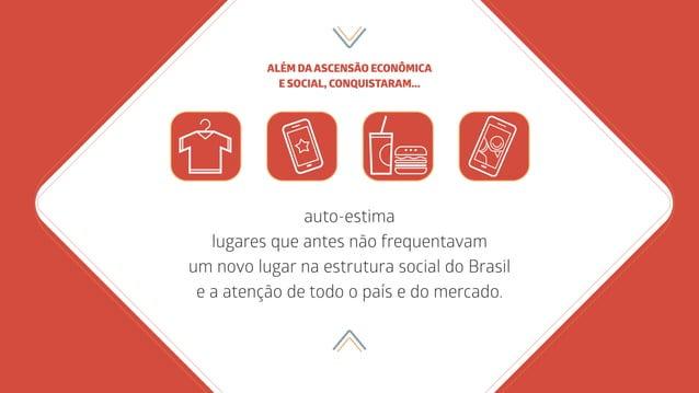 auto-estima lugares que antes não frequentavam um novo lugar na estrutura social do Brasil e a atenção de todo o país e do...