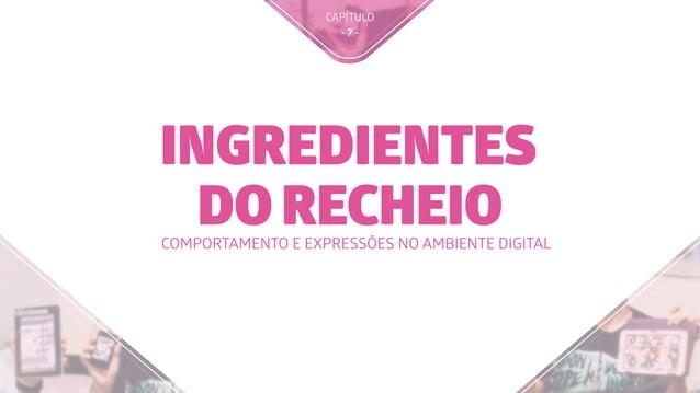 CAPÍTULO - 7 - INGREDIENTES DO RECHEIOCOMPORTAMENTO E EXPRESSÕES NO AMBIENTE DIGITAL