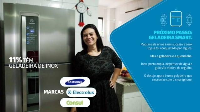 PRÓXIMOPASSO: GELADEIRASMART. Máquina de arroz é um sucesso e cook top já foi conquistado por alguns. Mas a geladeira é a ...