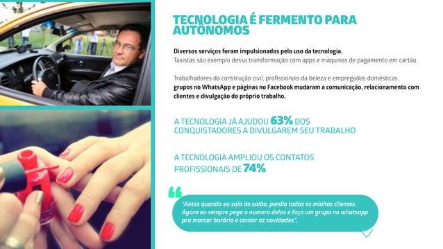Diversos serviços foram impulsionados pelo uso da tecnologia. Taxistas são exemplo dessa transformação com apps e máquinas...
