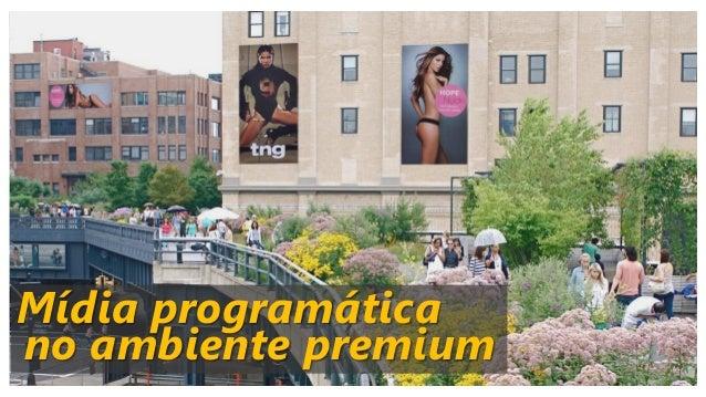 Mídia programática no ambiente premium