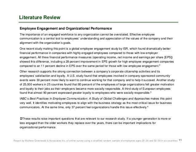 Employee / Organizational Communications