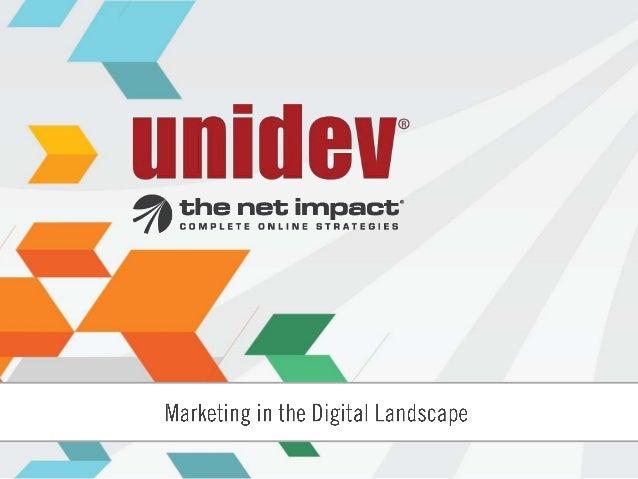 About the Speaker    Steve Thomas    President, The Net Impact    Vice President, Unidev    President, American Marketing ...