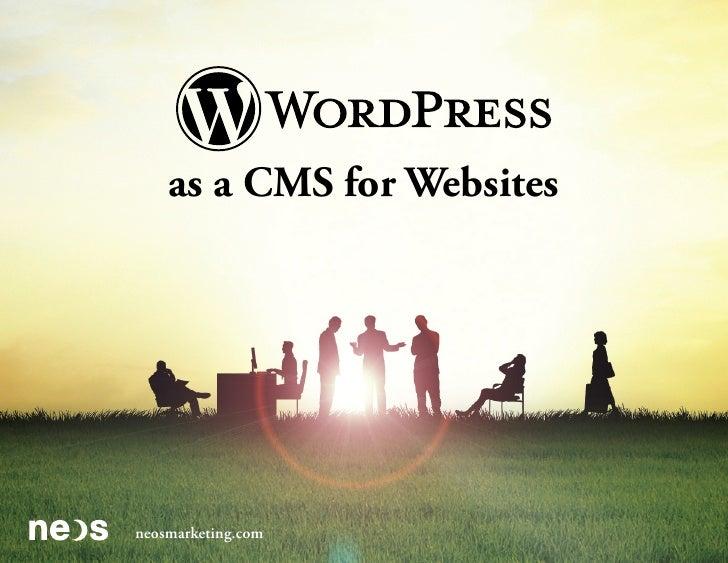 as a CMS for Websites           neosmarketing.comneosmarketing.com