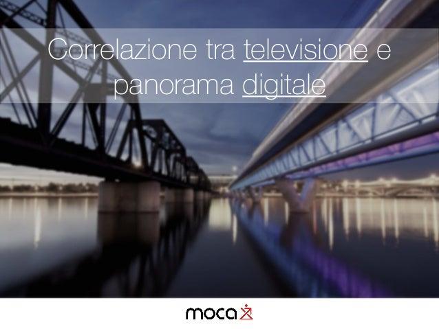 Correlazione tra televisione e panorama digitale