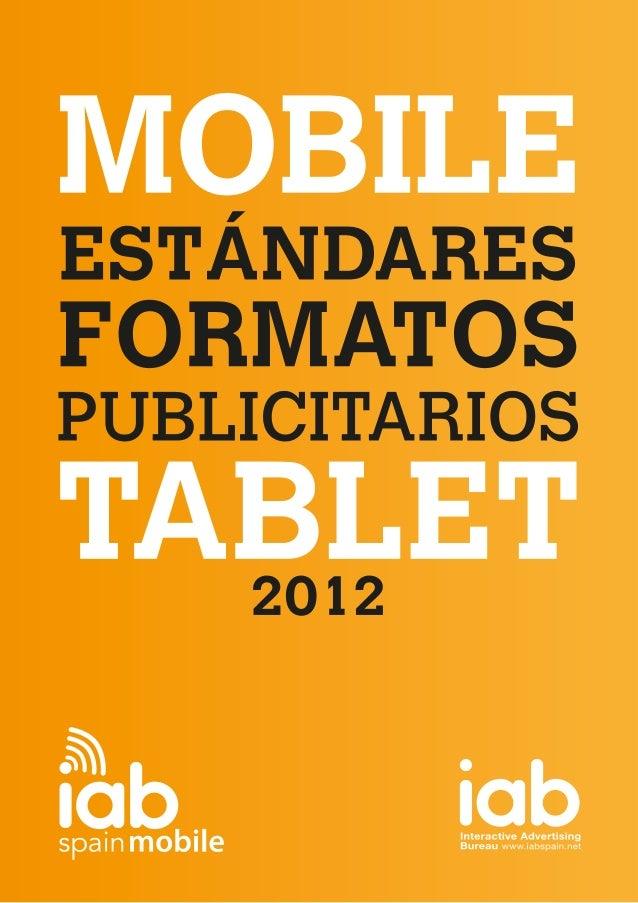 Formatos publicitarios para smartphones y tablets