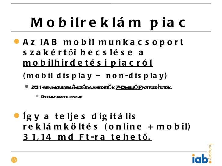 M o b ilr e k lá m p ia c A z IA B m o b il m u n k a c s o p o r t  s z a k é r t ői b e c s l é s e a  m o b ilh ir d e...