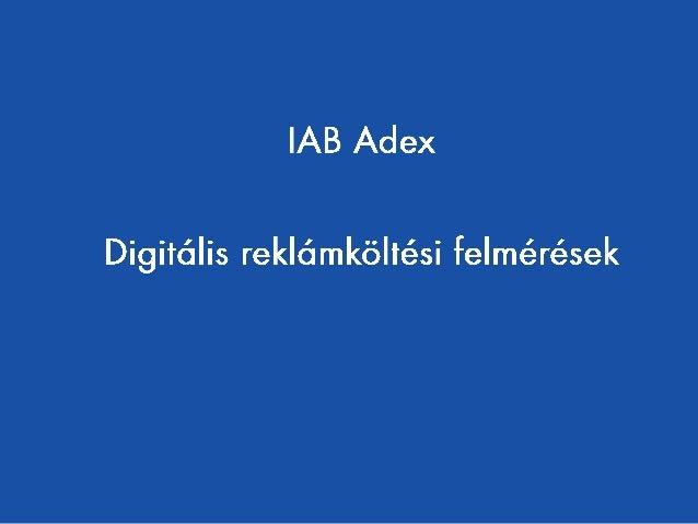 IAB Hungary Adex 2014 - Hungarian Slide 2