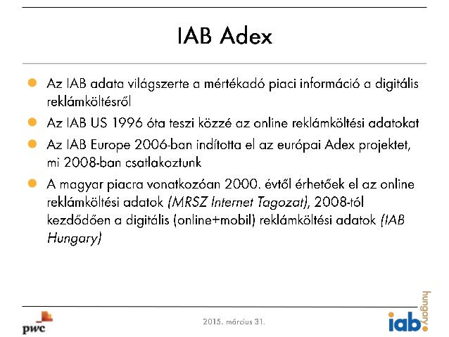 IAB Hungary Adex 2014 - Hungarian Slide 3