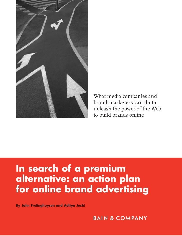 What media companies and                                         brand marketers can do to                                ...
