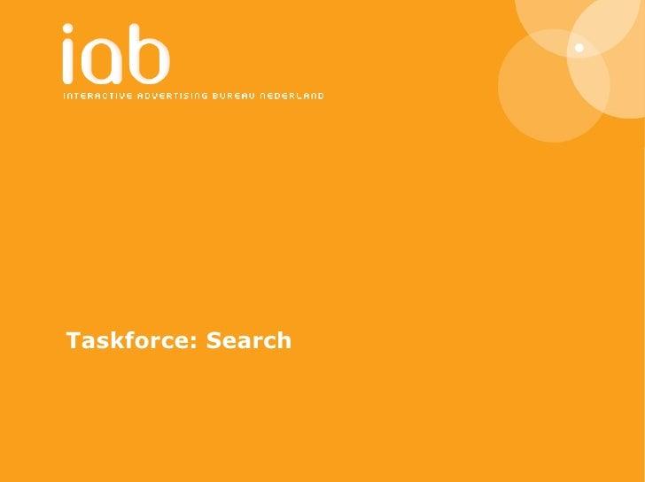 Taskforce: Search