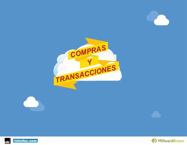 COMPRAS Y TRANSACCIONES