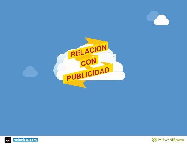 RELACIÓN PUBLICIDAD CON