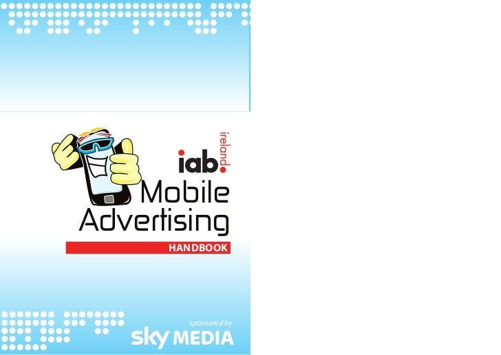 MobileAdvertising      Handbook        sponsored by