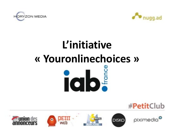 L'initiative« Youronlinechoices »
