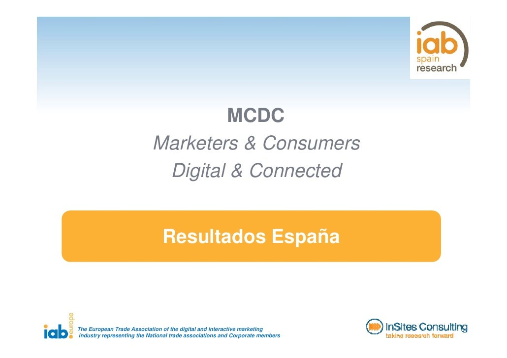 MCDC                            Marketers & Consumers                             Digital & Connected                     ...