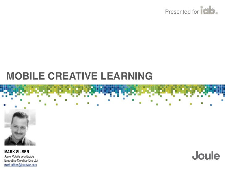 Trends, Opportunities, and Best Practices in Mobile Creative Slide 3