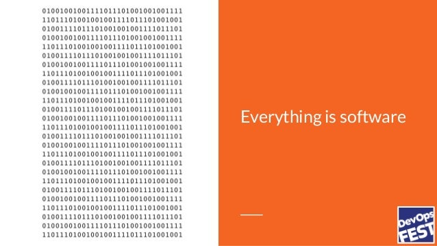 Everything is software