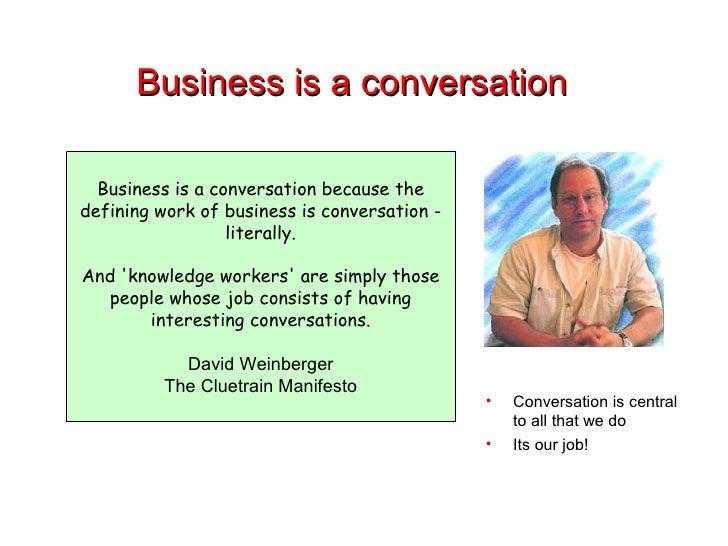 Gurteen Knowledge Cafe Slide 3