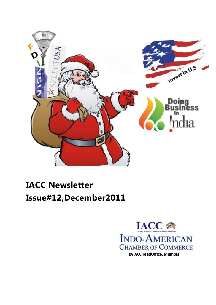 IACC NewsletterIssue#12,December2011                        ByIACCHeadOffice, Mumbai