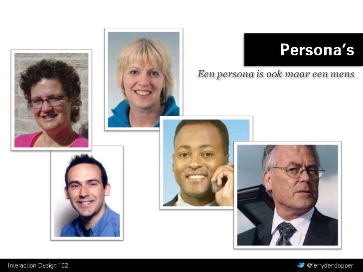 Een persona is ook maar een mens