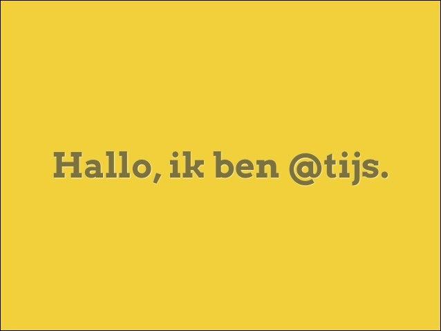 Ai, ik ben een IA Slide 2