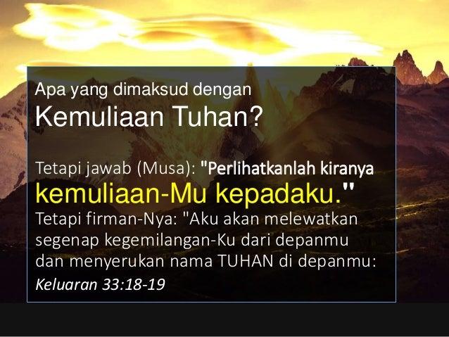 """yang membalaskan kesalahan bapa kepada anak-anaknya dan cucunya, kepada keturunan yang ketiga dan keempat."""" Keluaran 34:7 ..."""