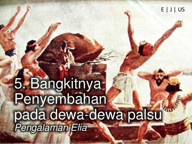 8. Hujan Turun Banyak orang kembali pada Tuhan Pengalaman Elia E   J   US