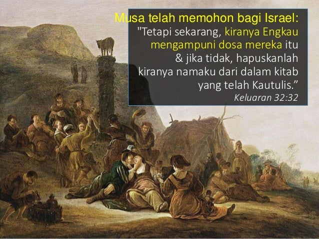 Tapi Doa Yesus: - Agar mereka melihat kemuliaan & Kerajaan Tuhan dinyatakan - Mengalami Pengalaman dari Musa & Elia GUNUNG...