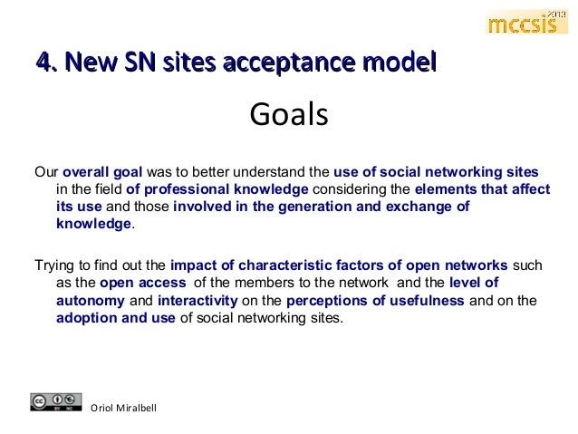 thesis proposal about social networking sites