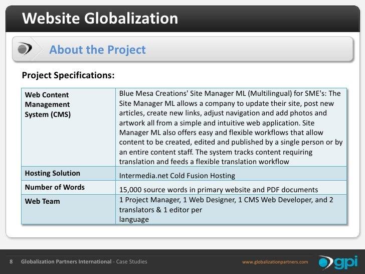 globalization case study