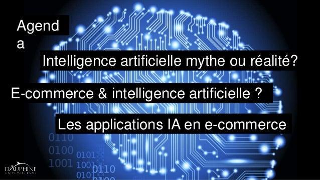 Intelligence artificielle et e-commerce Slide 2