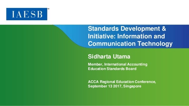 Page 1 | Proprietary and Copyrighted Information Standards Development & Initiative: Information and Communication Technol...