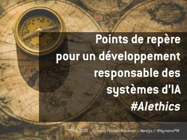 Aymeric Poulain Maubant – Nereÿs // @AymericPM2019-2020 – Aymeric Poulain Maubant – Nereÿs // @AymericPM Points de repère ...
