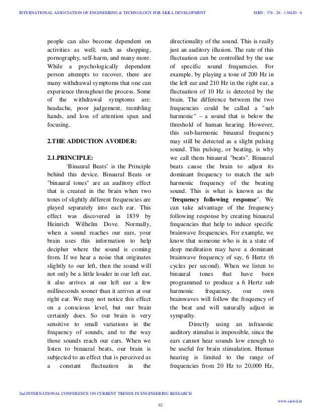research paper on technology dependence This same research noted that those who spent more hours per school day than peers on social networking sites were at higher risk for depression and suicide3 it stands to reason then, that if we can prevent technology addiction, we may also be able to prevent other risky behavior and dangerous.