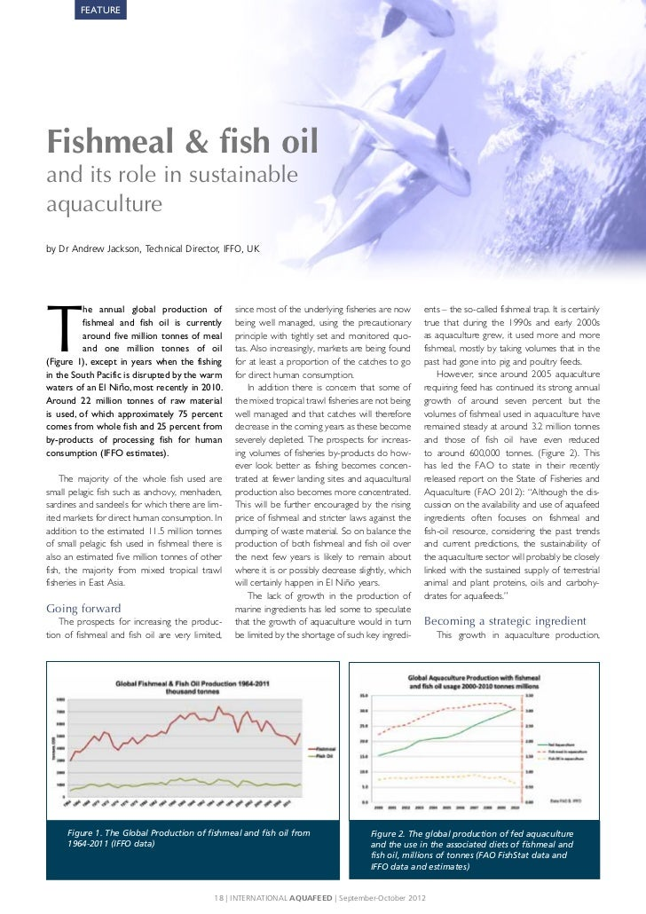 Fishmeal fish oil and its role in sustainable aquaculture for Phil s fish market eatery