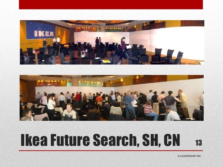 Ikea Future Search, SH, CN<br />13<br /> © LEADERSHIP INC<br />