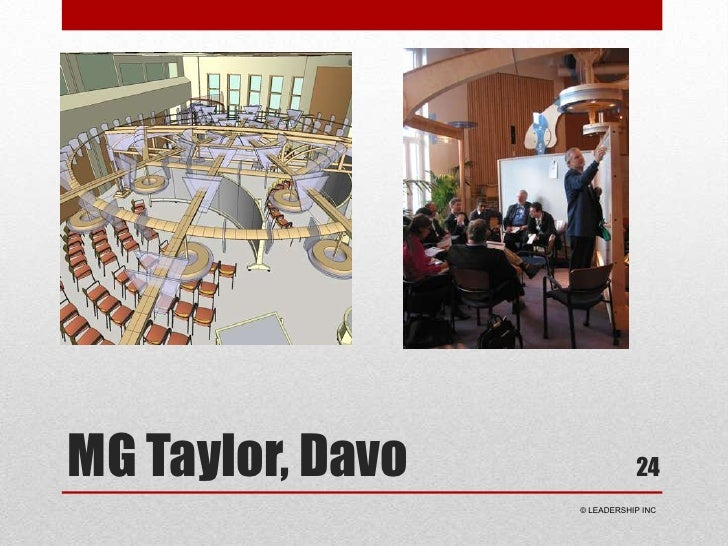 MG Taylor, Davo<br />24<br /> © LEADERSHIP INC<br />